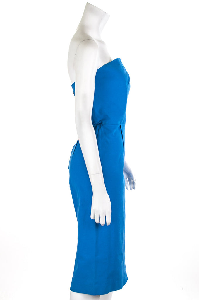 Roland Mouret Electra strapless dress Size XL | FR 44 - OWN THE COUTURE  - 2