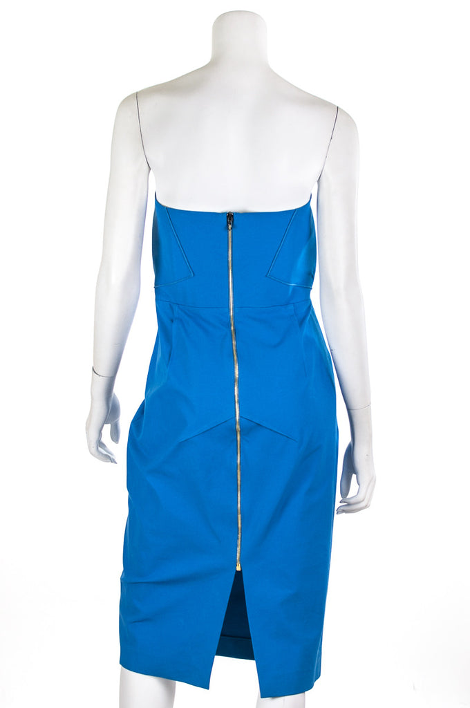 Roland Mouret Electra strapless dress Size XL | FR 44 - OWN THE COUTURE  - 3