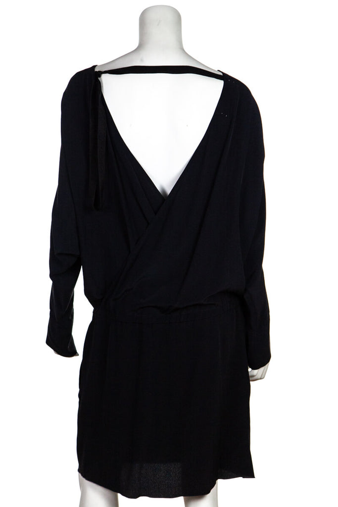 Marni Black Low Waist Open Back Dress New w/ Tags Size S | IT 42 - OWN THE COUTURE