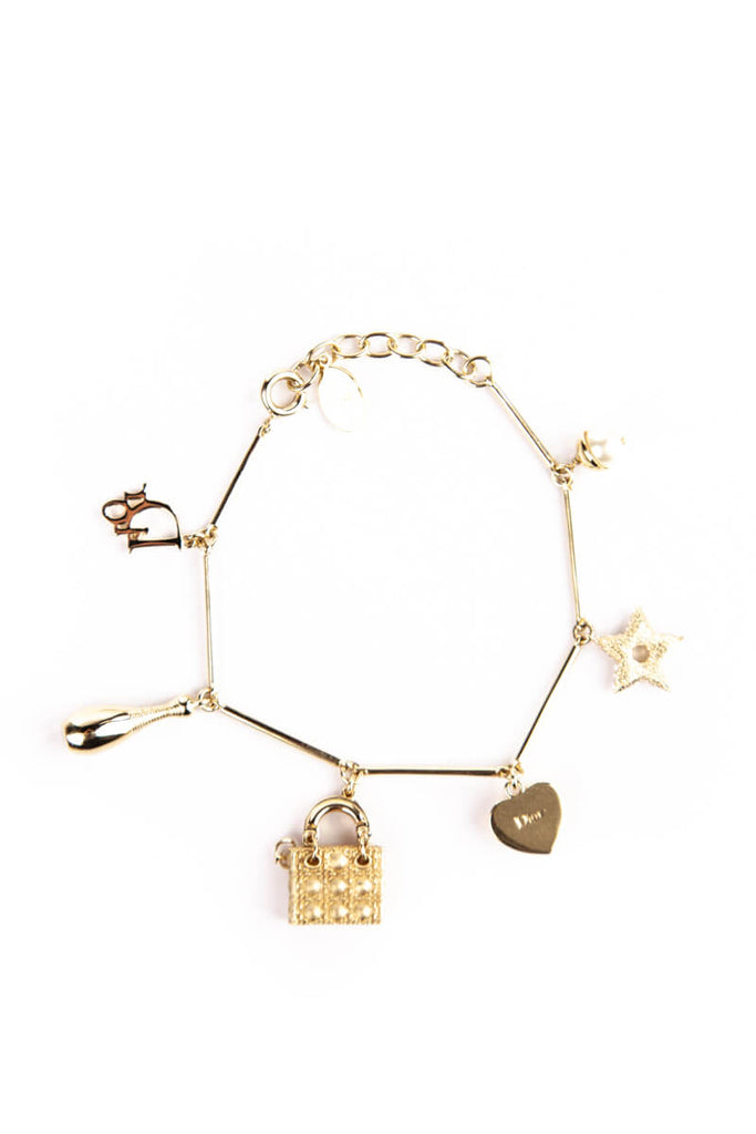 a5dec806254 Christian Dior Lady Dior Charm Bracelet - OWN THE COUTURE ...