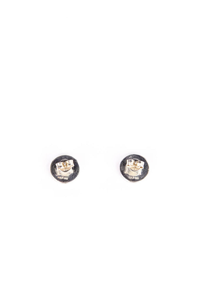 c77aa15d6dd036 Gucci Sterling Silver Logo Stud Earrings - OWN THE COUTURE ...