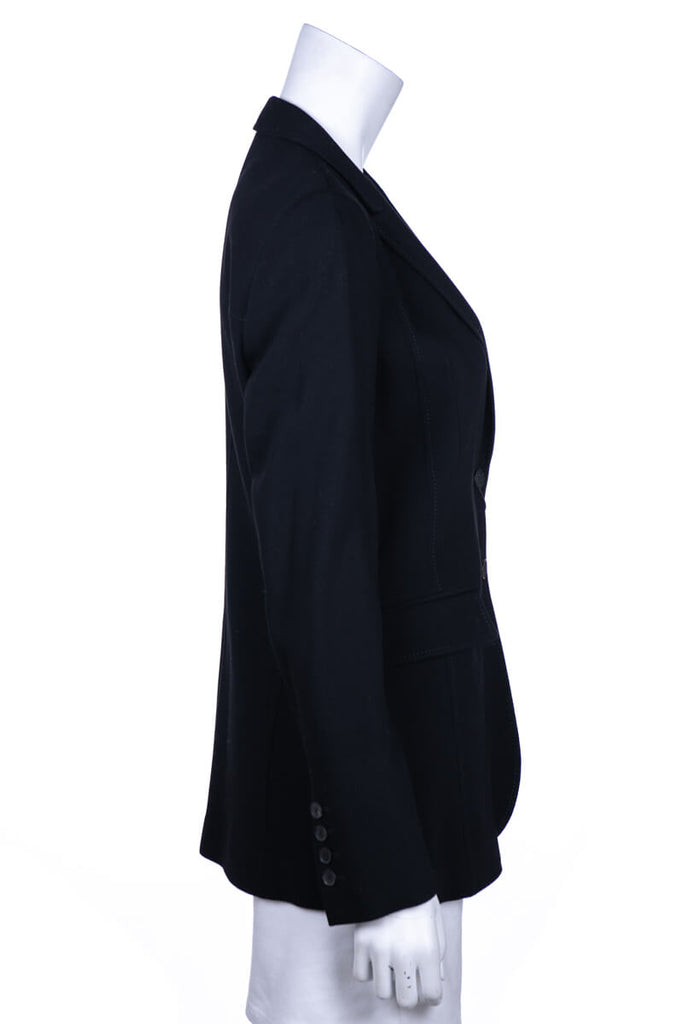 Gucci Black Wool Blazer New W/ Tags Size M | IT 44 - OWN THE COUTURE