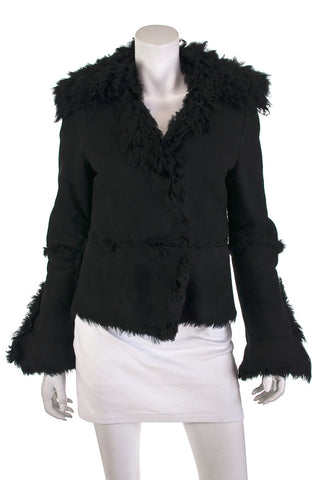 Etoile Isabel Marant Black Wool Collarless Blazer XXS | FR 34 [20% OFF]