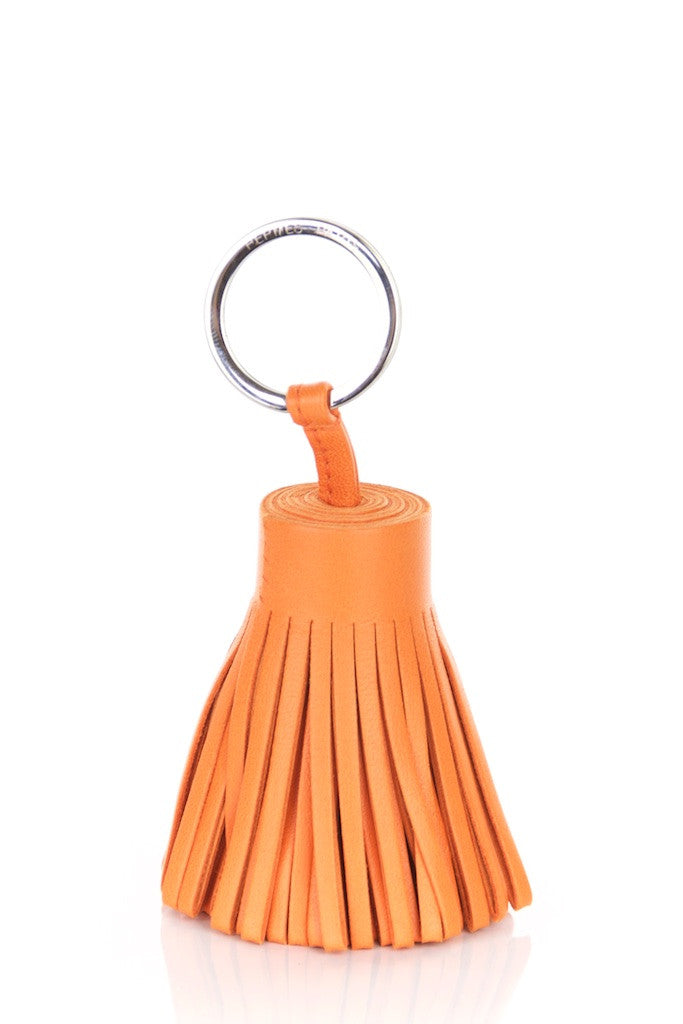 Hermès tassel key ring New - OWN THE COUTURE
