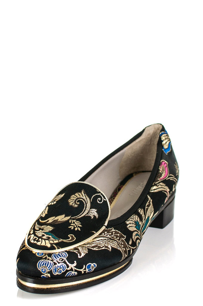 Jason Wu Little Emperor brocade loafer New Size 11