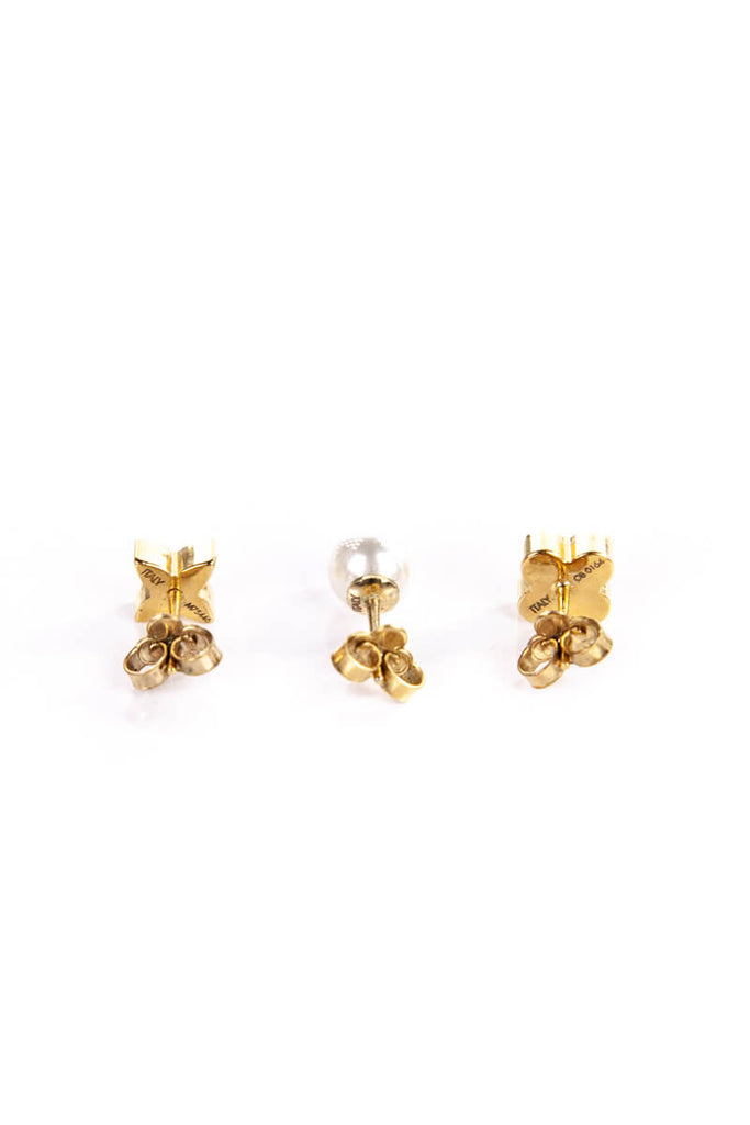 Louis Vuitton Blooming Flowers and Pearl Set of Earrings - OWN THE COUTURE