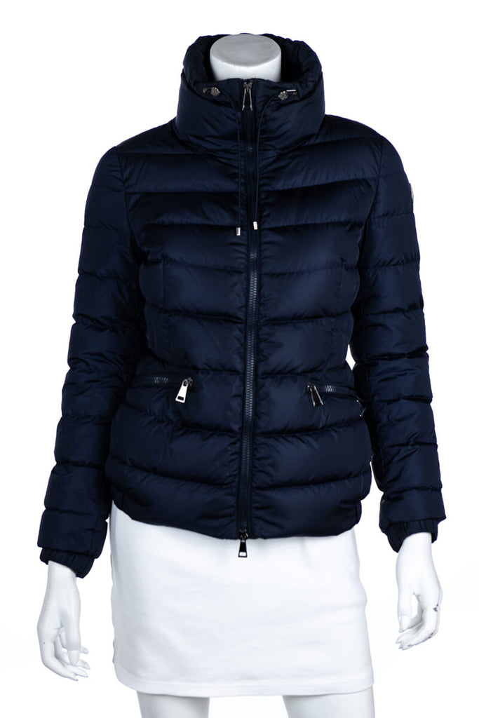Moncler Navy Blue Down Puffer Irex Jacket Size XS | 0 - OWN THE COUTURE