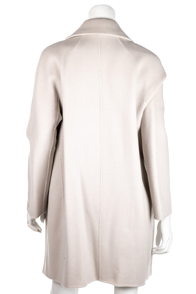 S Max Mara Lastra beige wool coat New M | DE 38 - OWN THE COUTURE