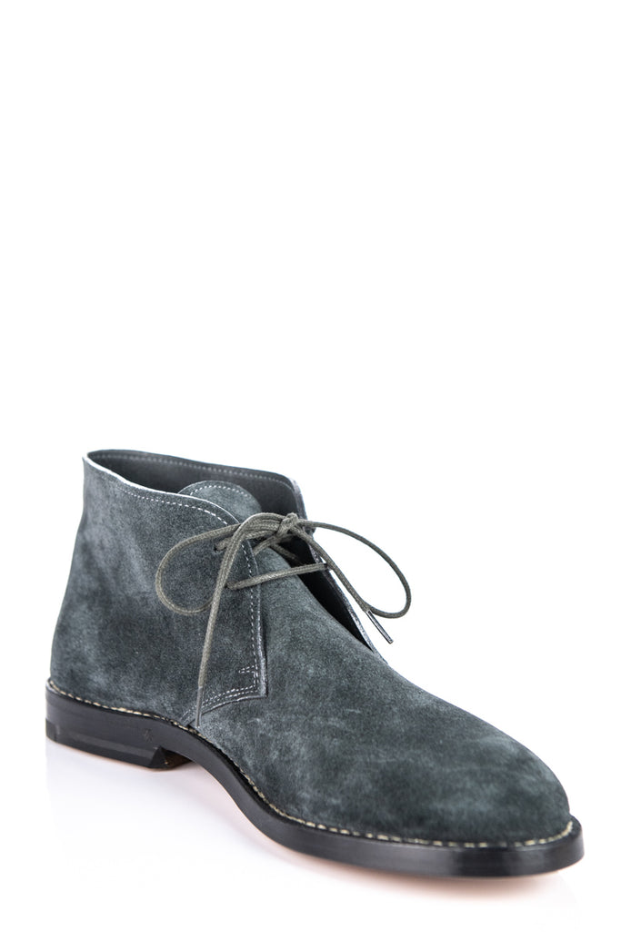 Bottega Veneta Gray Suede Desert Boots New size 7.5 | IT 37.5 - OWN THE COUTURE