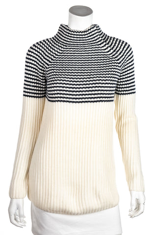 Isabel Marant colorblock mohair and alpaca sweater M | FR 40