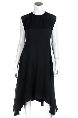 Christian Dior navy lace up embellished dress from Winter 2014 Size L | FR 42
