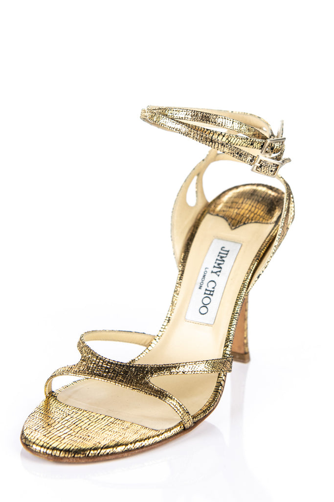 high THE sandalsOWN Choo COUTURECanada's heel Jimmy gold xoredCWB