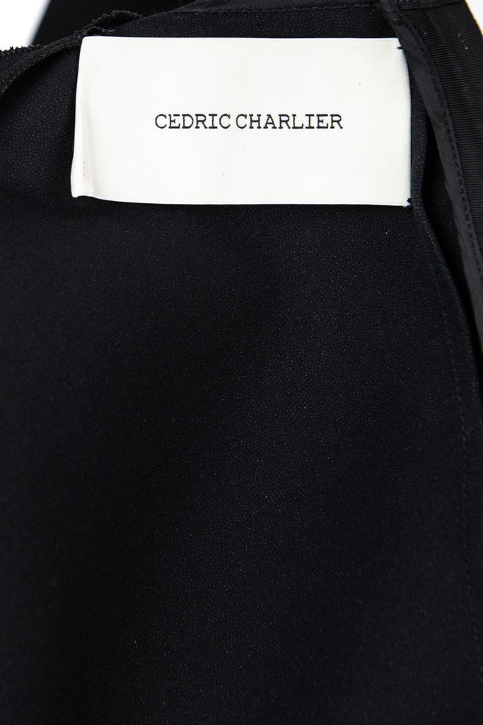Cedric Charlier black sleeveless dress Size S | IT 42 - OWN THE COUTURE