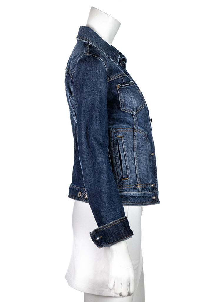 Dolce & Gabbana Denim Jacket Size XXS | IT 38 - OWN THE COUTURE