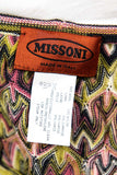 Missoni Pink and Green Wave Knit Sleeveless Top Size M | IT 44 - OWN THE COUTURE