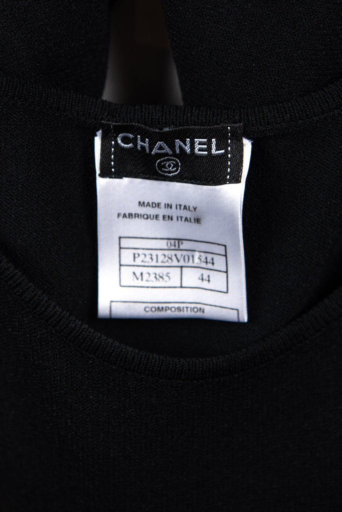 Chanel Camellia Knit Spring 2006 Top Size M | FR 44 - OWN THE COUTURE