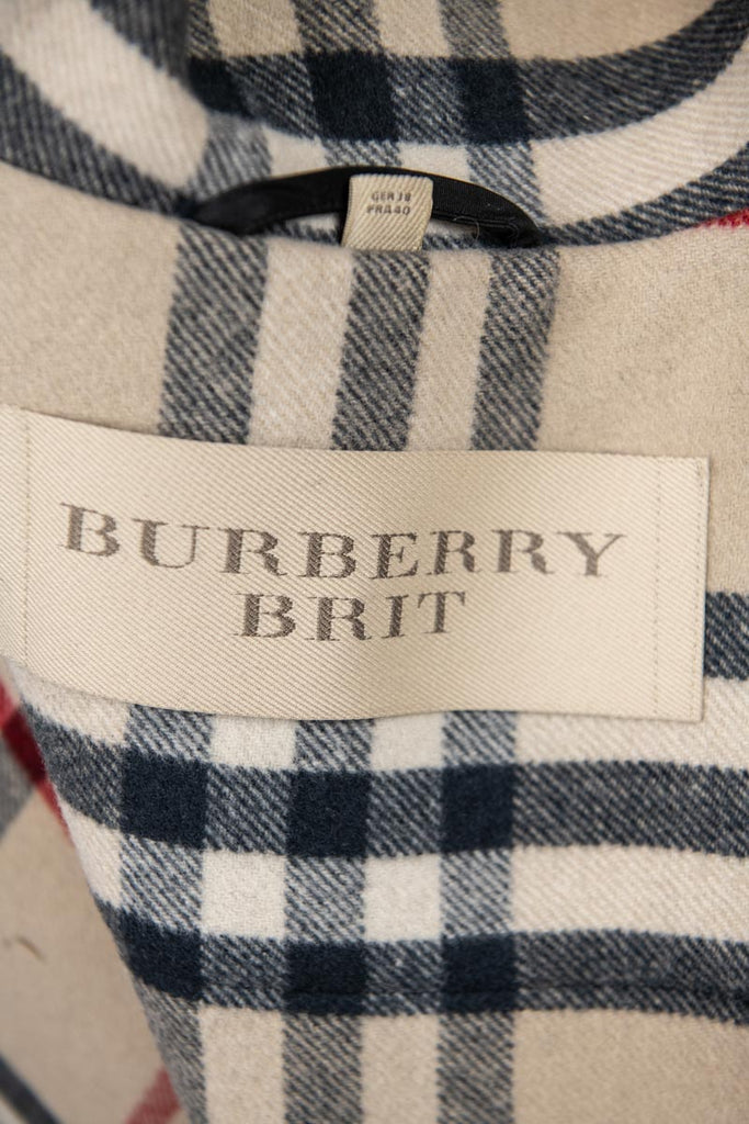 Burberry Brit Black Wool Duffle Hooded Coat S | UK 10 [20% OFF] - OWN THE COUTURE