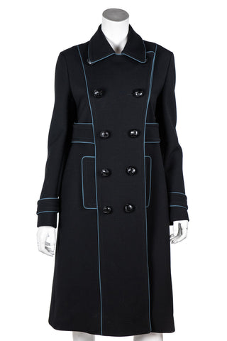 72cac0923809 Burberry Purple Double Breasted Trench Coat Size S