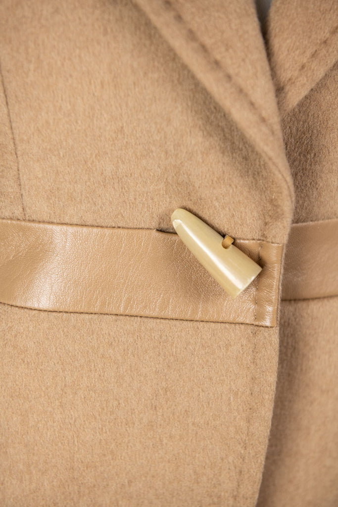 Max Mara Beige Camel Hair Jacket Size S | IT 42 [20% OFF] - OWN THE COUTURE