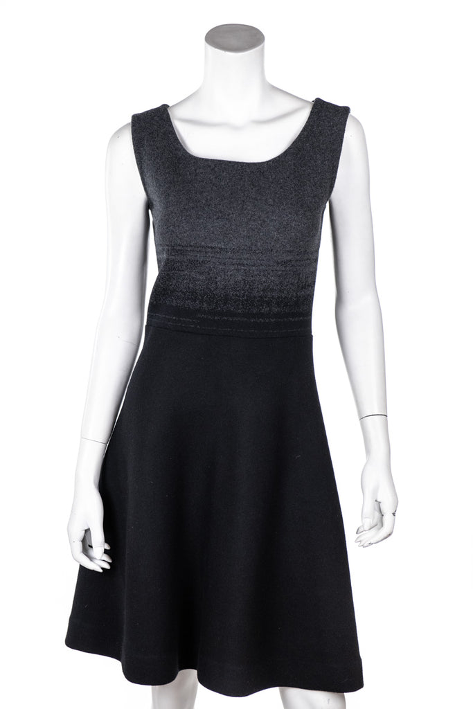 Prada Grey Ombre Knit Sleeveless Dress Size XS | IT 40 [20% OFF] - OWN THE COUTURE