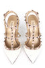 Valentino ivory rockstud T-bar pumps Size 8.5 | EU 38.5 - OWN THE COUTURE