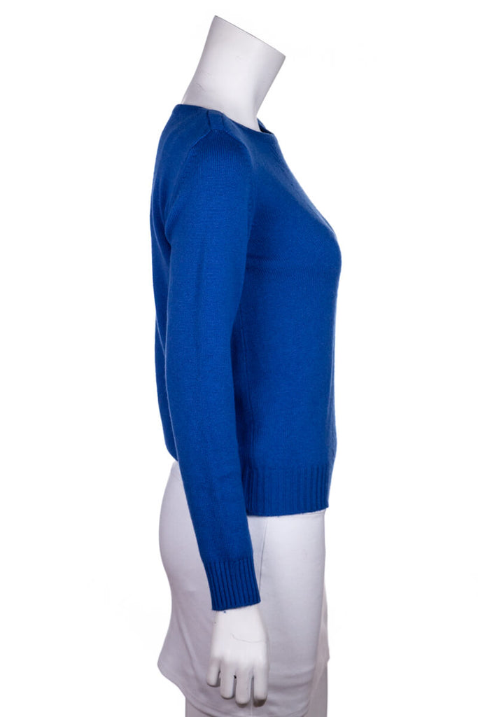 Hermès Blue Cashmere Sweater Size XS | FR 36 - OWN THE COUTURE