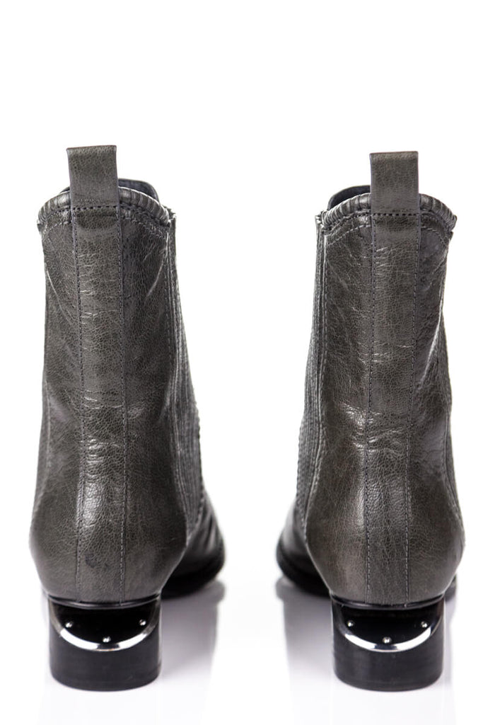Alexander Wang grey pointed toe ankle boots Size 6 | EU 36 - OWN THE COUTURE