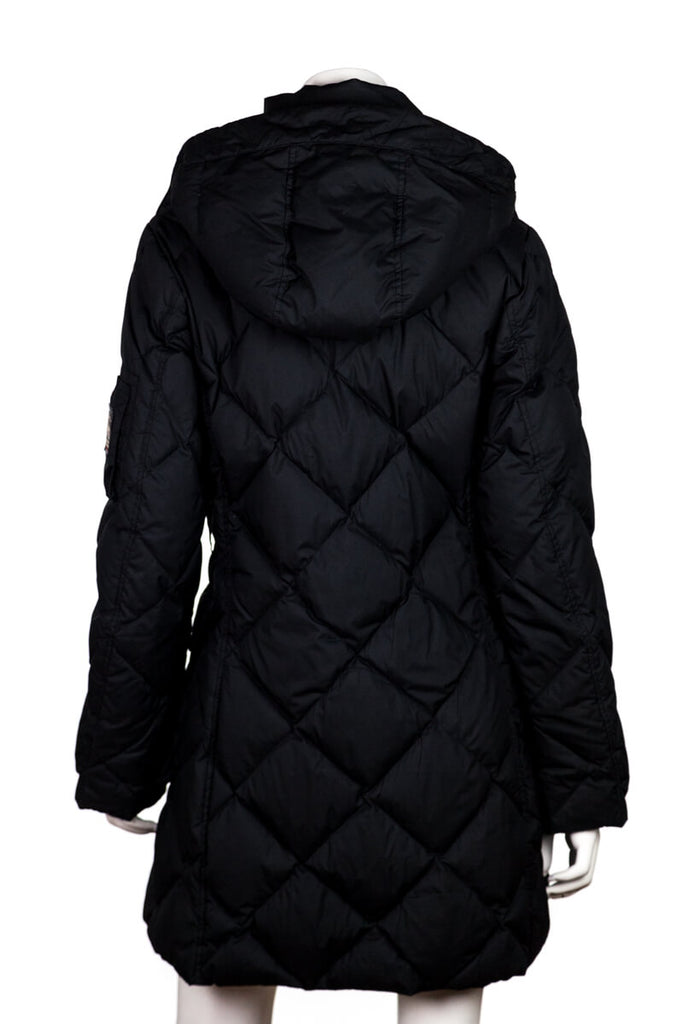 1d2c939b452e ... Burberry London Black Quilted Down Hooded Coat Size S - OWN THE COUTURE  ...