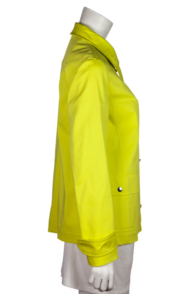 Akris Punto Yellow Rain Coat Size M | D 38 - OWN THE COUTURE
