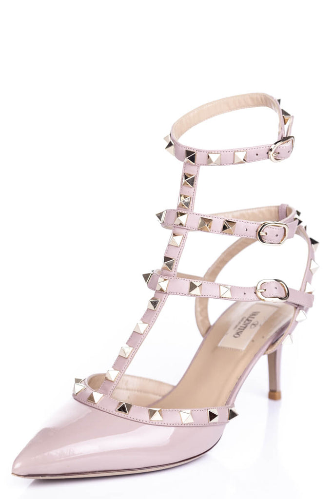 Valentino nude patent Rockstud pumps Size 8 | EU 38 - OWN THE COUTURE