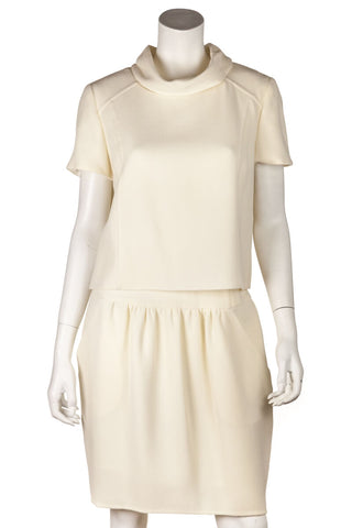 Alice + Olivia white cotton mini skirt Size XXS | US 0 [20% OFF]