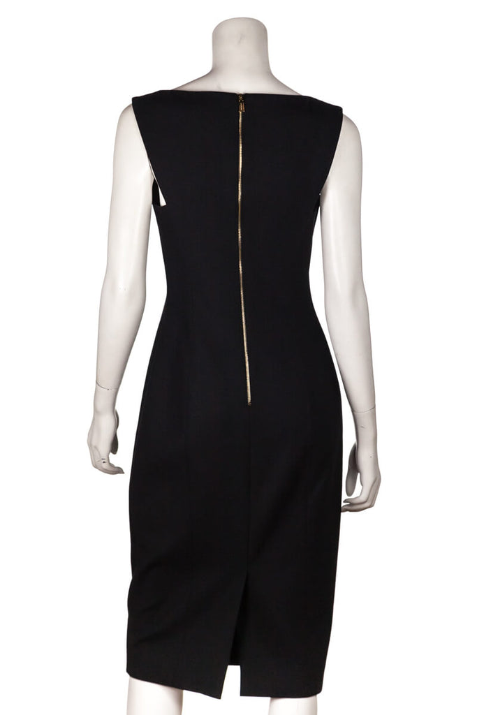 Jason Wu Black Wool Sleeveless Sheath Dress Size S | US 6 [20% OFF] - OWN THE COUTURE