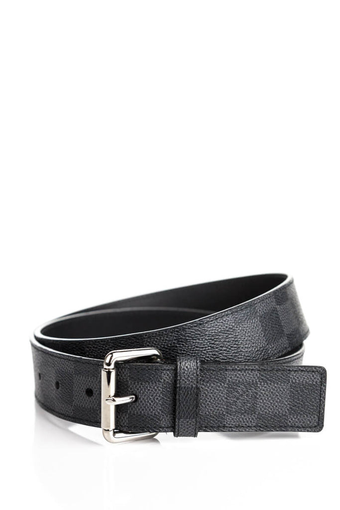 Louis Vuitton Damier Graphite Belt - M [20% OFF] - OWN THE COUTURE