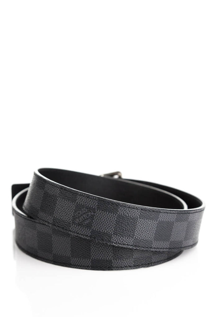 Louis Vuitton Damier Graphite Belt - M - OWN THE COUTURE