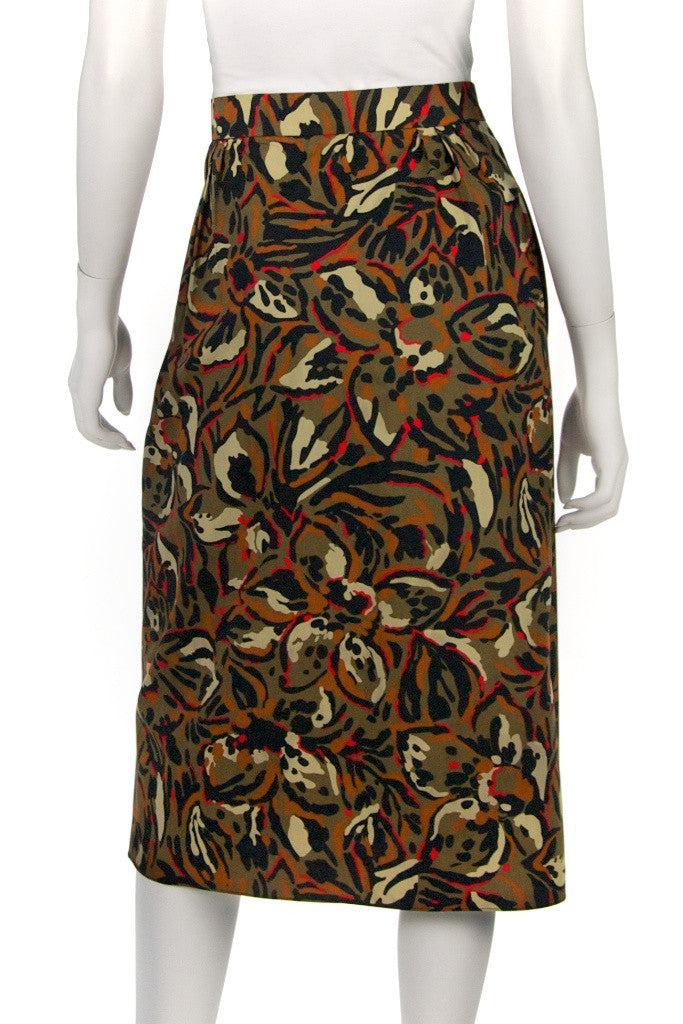 Pierre Balmain abstract print wrap skirt Size XL | FR 44 - OWN THE COUTURE  - 3