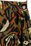 Pierre Balmain abstract print wrap skirt Size XL | FR 44 - OWN THE COUTURE  - 5