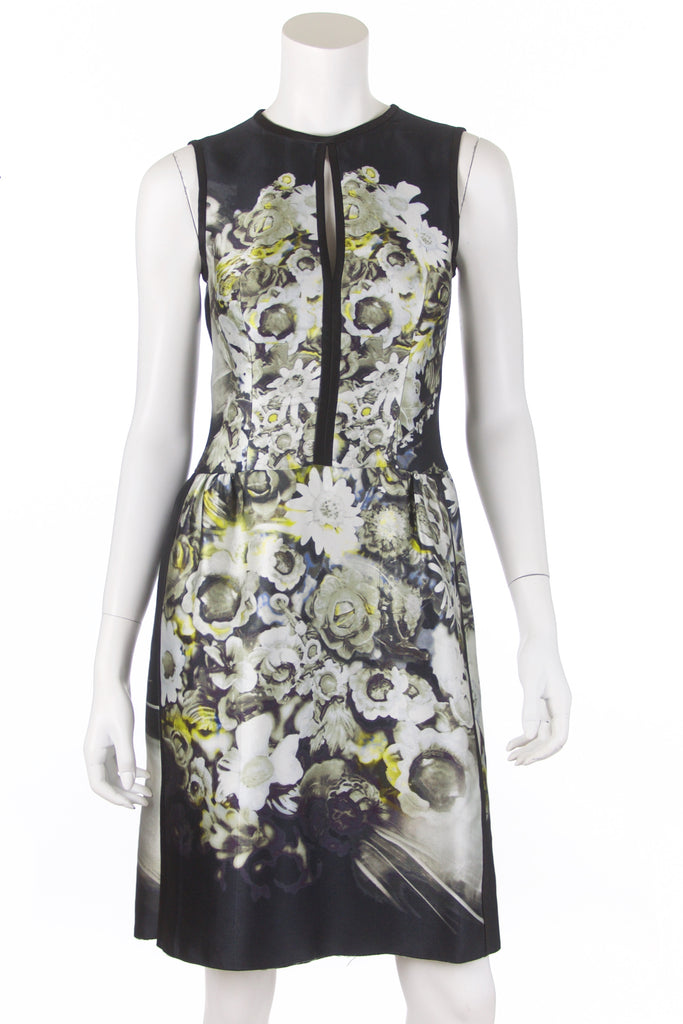 Prada floral print flared dress Size XXS | IT 38 - OWN THE COUTURE
