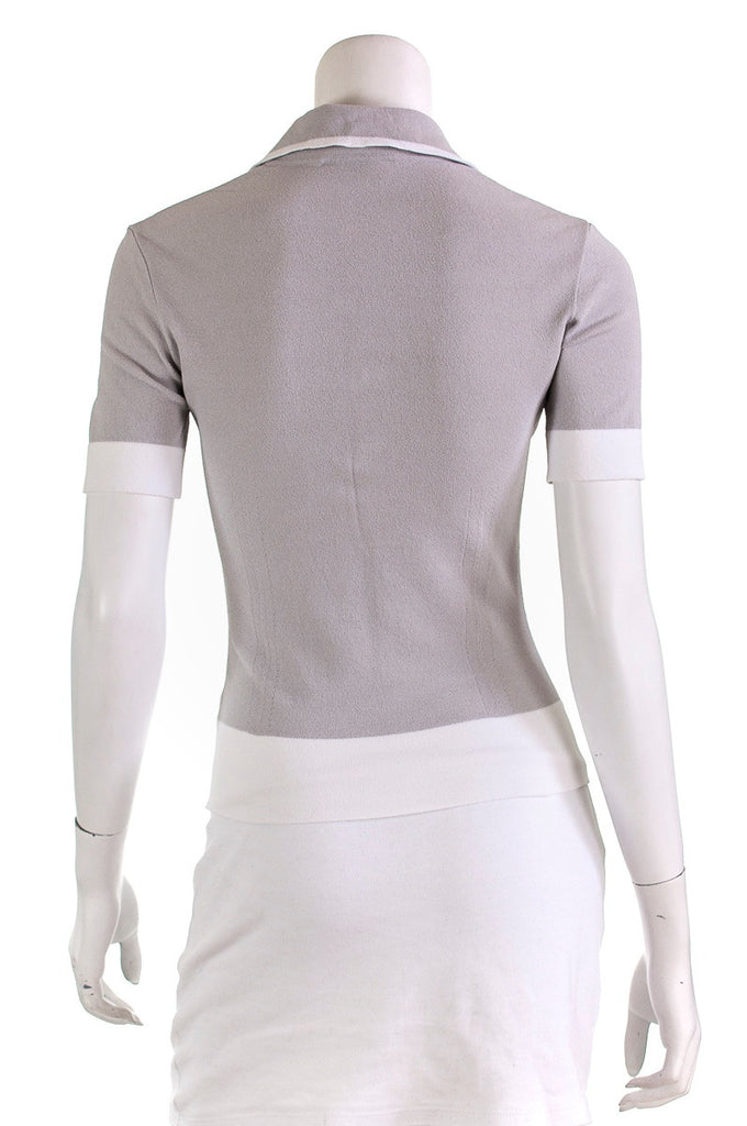 Salvatore Ferragamo knit short sleeve sleeve top Size M - OWN THE COUTURE