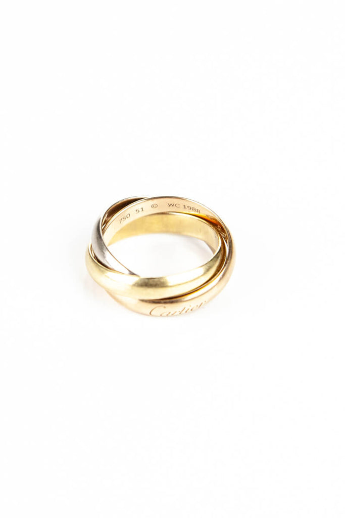 Cartier Trinity Ring Size 5.75 - OWN THE COUTURE