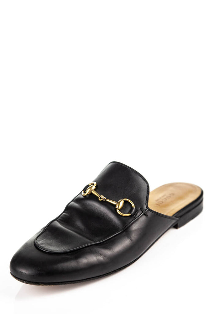 Gucci Black Princetown Classic Mules Size 8.5 | IT 38.5 - OWN THE COUTURE