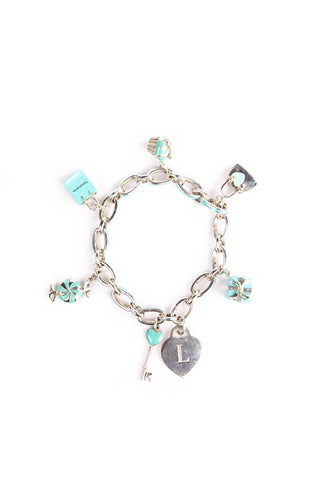 42308c91c85 Tiffany   Co Tiffany Enamel Charm Bracelet