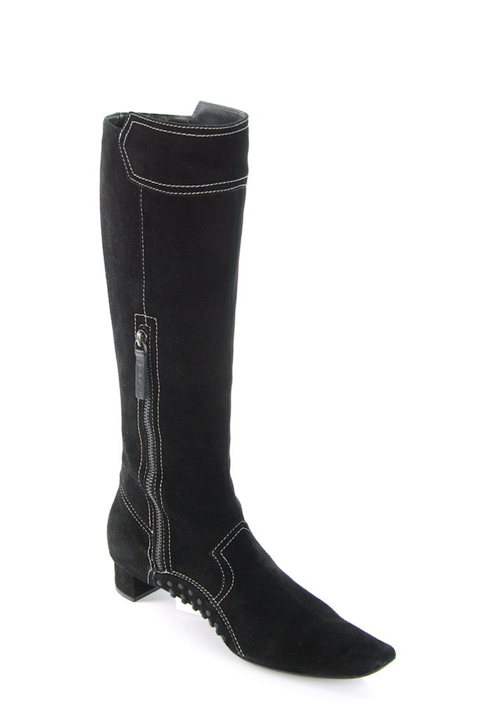 Tod's suede knee high boots New Size 10  [15% OFF] - OWN THE COUTURE  - 1