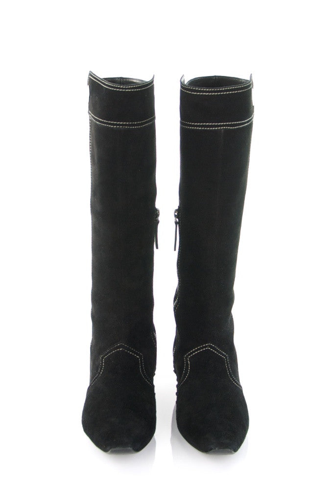 Tod's suede knee high boots New Size 10  [15% OFF] - OWN THE COUTURE  - 3