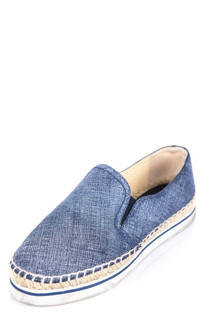 Jimmy Choo Denim Espadrilles Size 5.5 | EU 35.5 [20% OFF] - OWN THE COUTURE