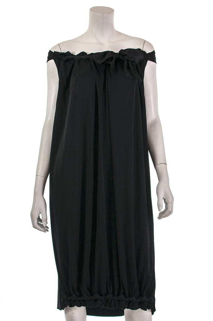 Yves Saint Laurent off-the-shoulder dress Size S - OWN THE COUTURE