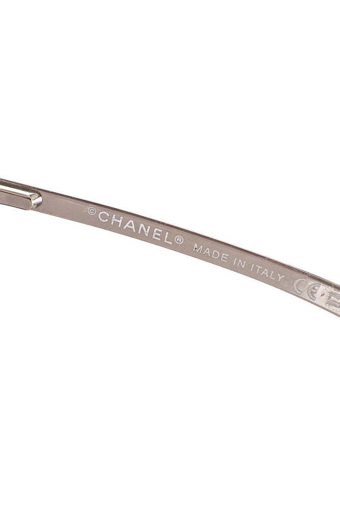 Chanel shield sunglasses - OWN THE COUTURE