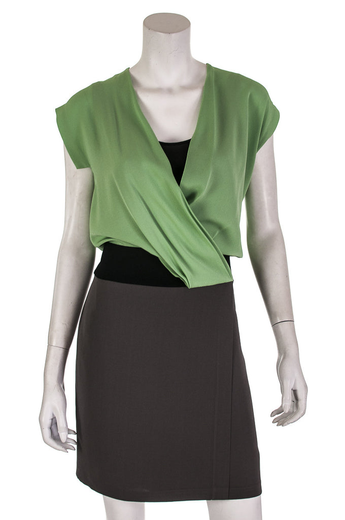 Diane von Furstenberg Nori Crepe silk dress Size M | US 8 - OWN THE COUTURE