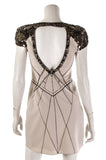 Karen Millen sequin Modern Jewel Shoulder mini dress Size XS | UK 8 [40% OFF] - OWN THE COUTURE