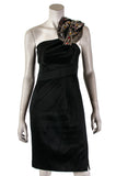 Karen Millen beaded one shoulder dress Size S | UK 10 - OWN THE COUTURE  - 1