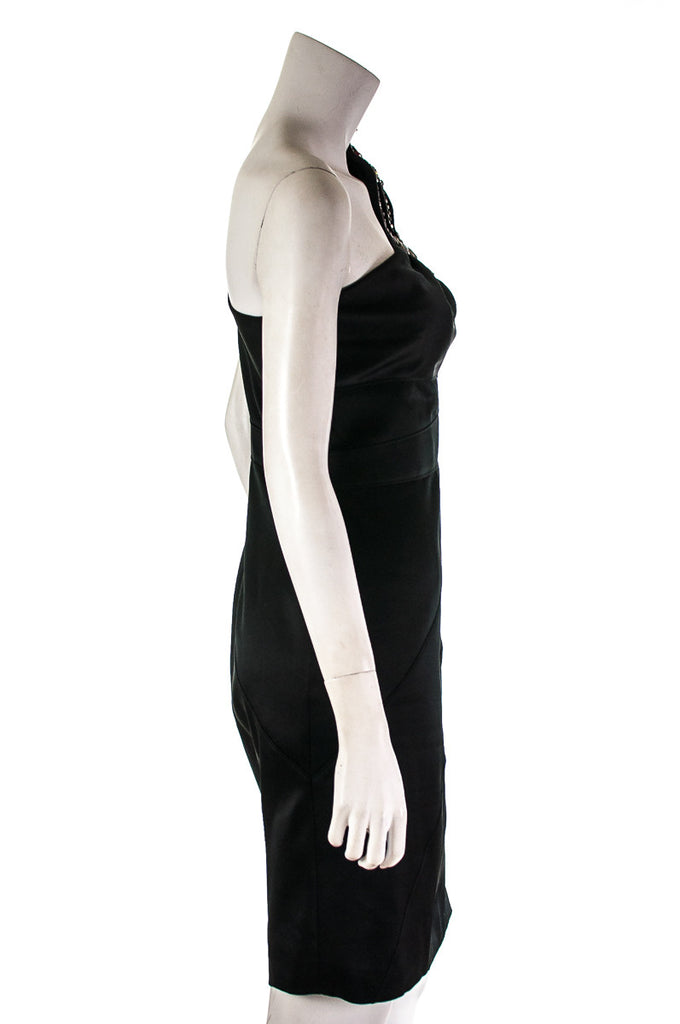 Karen Millen beaded one shoulder dress Size S | UK 10 - OWN THE COUTURE  - 4